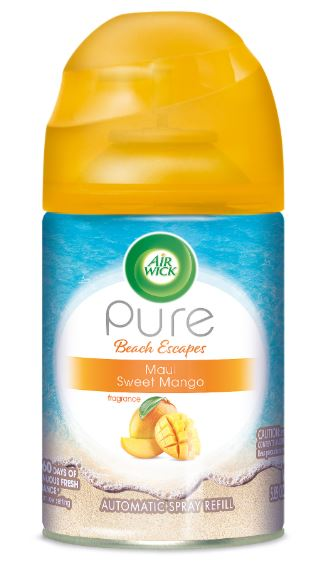 Air Wick Automatic Spray - Pure Beach Escapes Maui Sweet Mango 5.89 oz